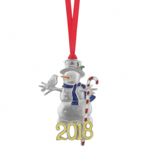 2018 Limited Edition Christmas Ornament